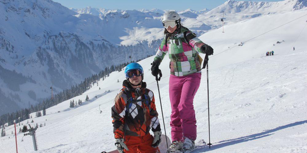 Samen op wintersportvakantie is echt geweldig!